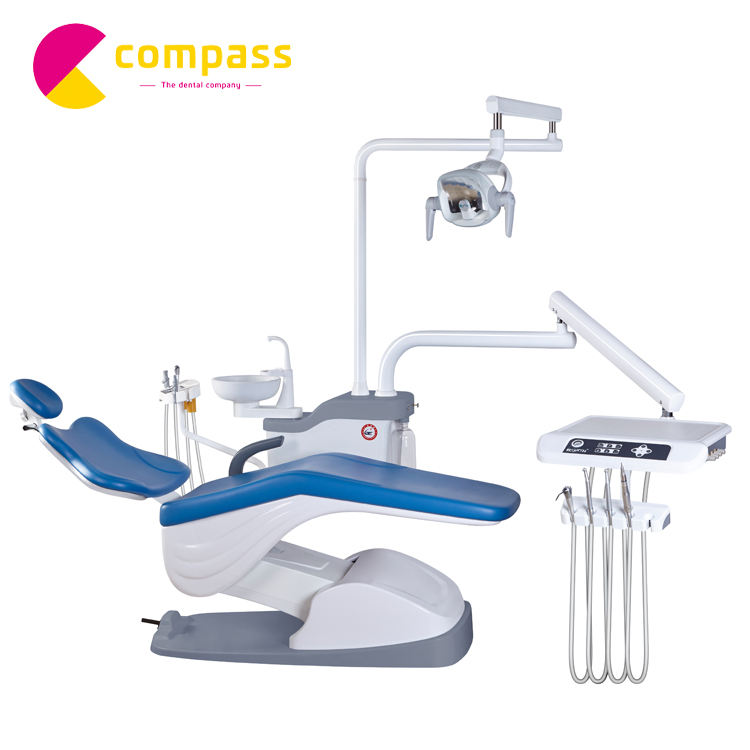 Hot selling dental unit chair with led sensor light