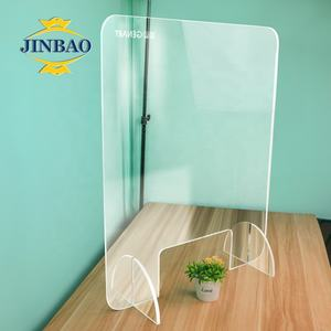 JINBAO perspex cast plastic acrylic sheet sneeze guards partition hard paper board