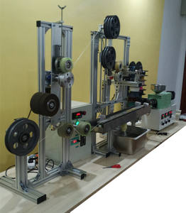 SJ35 PLA 3D Filament Mesin 3D Production Line Mengintip 3d Printing Filament Producton Line