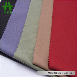 Mulinsen Textile 100D 4 Way Stretch Polyester Moss Crepe Fabric
