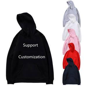 Oversized blank loose xxxl sweatshirts cotton custom print men hoodies