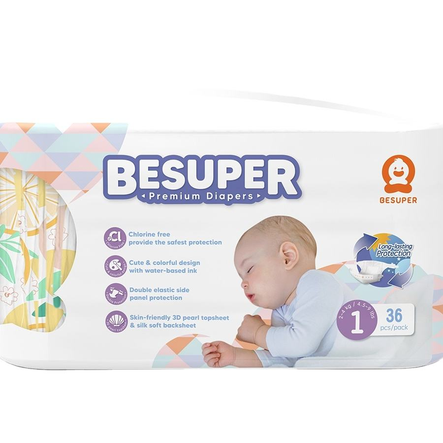 Besuper Wholesale Disposable T-shape Baby Diaper China Manufacturer
