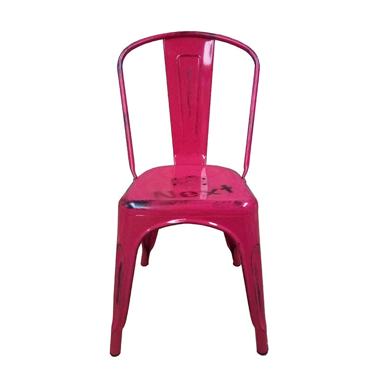 hot sale outdoor Furniture colourful leisure iron Metal Chair