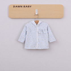 sweety button pompom hood outwear child girl baby children coat long sleeve baby coat