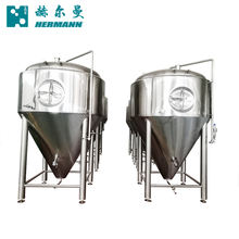 Fermenting beer machinery equipment and filtration equipment made by Hermann
