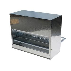 Feeder Large Capacity Auto Galvanized Steel Poultry Chicken Feeder