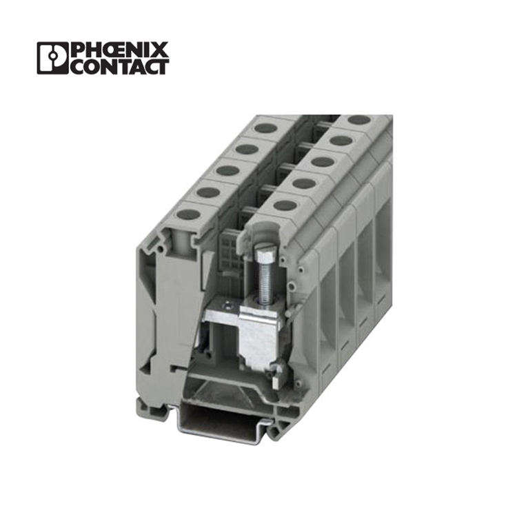 UK 35 N Phoenix contact 2-8AWG feed through telephone wire terminal block