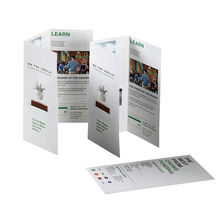 Custom A4/A5 paper flyer /booklet/brochure printing services
