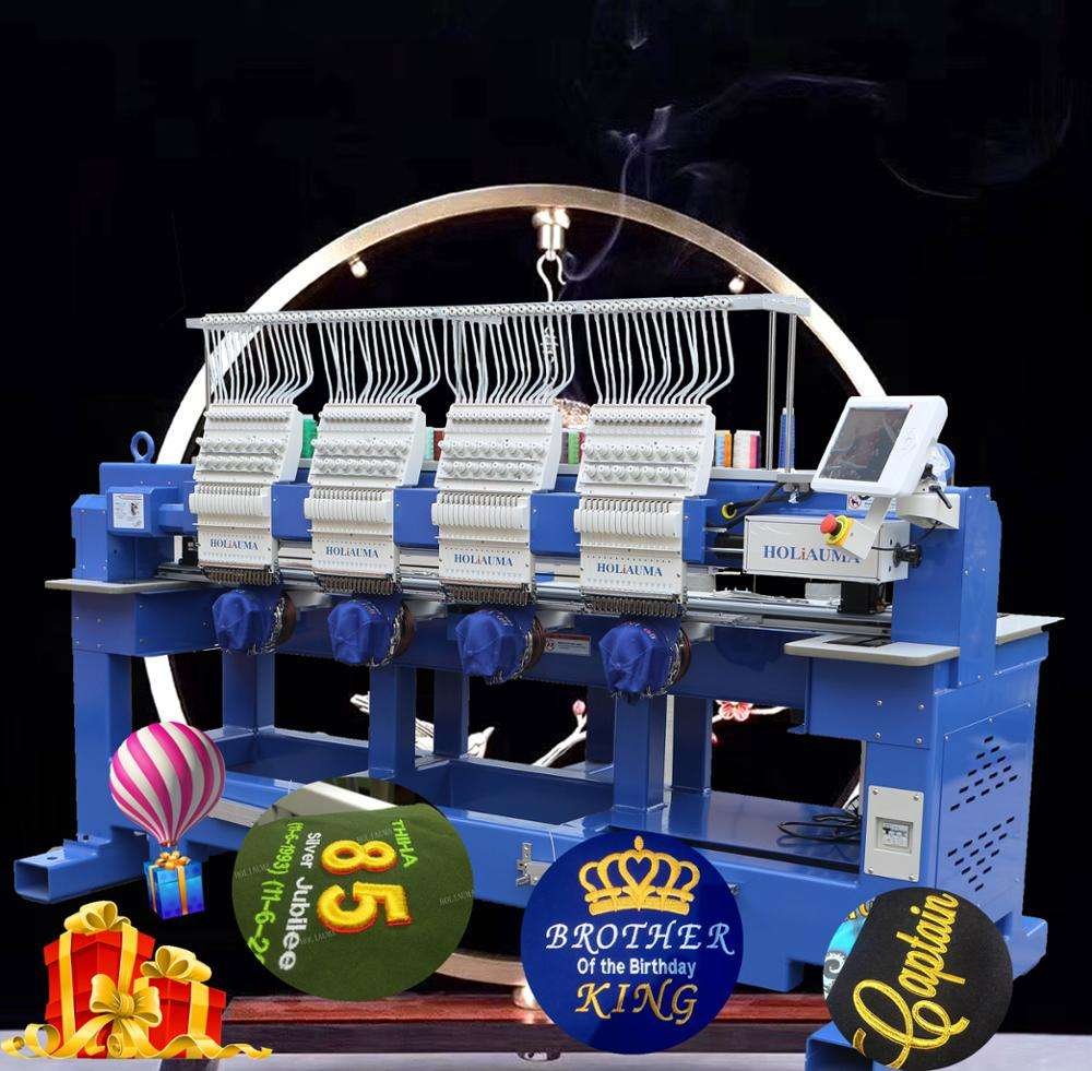 Professional Factory Price 4 Head 15 Color Computer Embroidery Machine Computerized better used brother embroidery machine