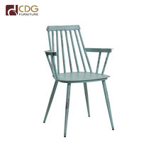 Outdoor Furniture House Aluminum Windsor Arm Chair