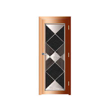 Bullet Front Entrance Aluminum Security Doors Design