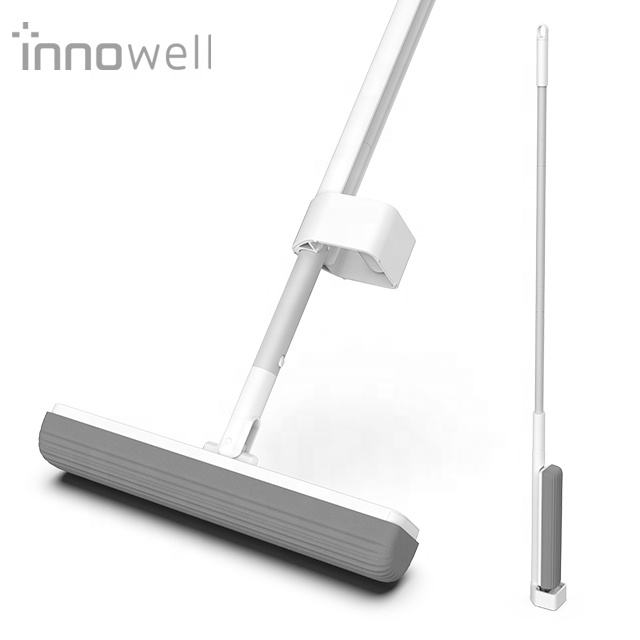 Innowell hands free 180 degree rotating super absorbent PU sponges Floor Mop Household Cleaning tools