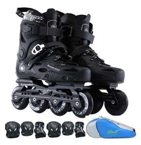 Dynamic Wind Roller Skates Men Women Inline Skating Shoes High Quality Sliding Freestyle Skating Patins 4 Wheels Professional