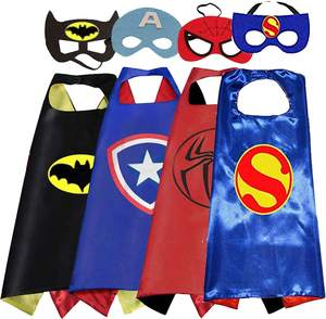 Halloween Superhero Kostum Anak Super Hero Jubah