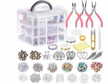 3 layer 1186PCS Jewelry Making Supplies Jewelry Accessories Bead Wire Tools of Jewelry Finding