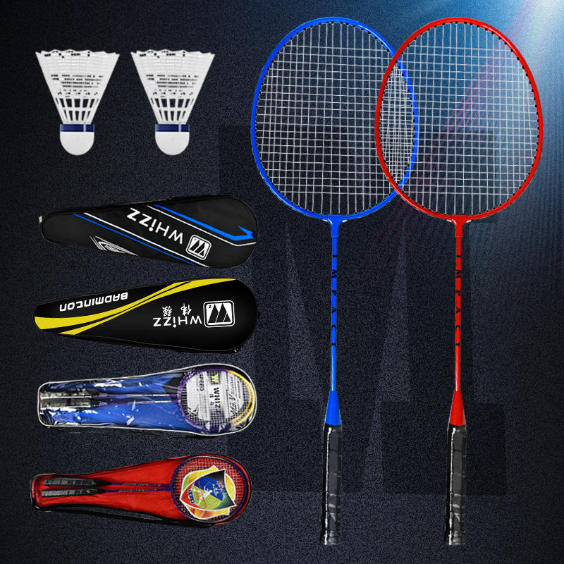 2020 hot sale WHIZZ New Arrival Design PROTECTOR racquet STEEL Aluminum carbon graphite custom badminton rackets professional