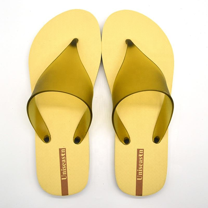 SS20 Fashion Beige Ladies Slippers Plain Style Custom Logo Brand Women Flip Flops Sandals