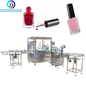 Factory price Automatic nail polish/cbd oil/glass bottle filling and capping machine
