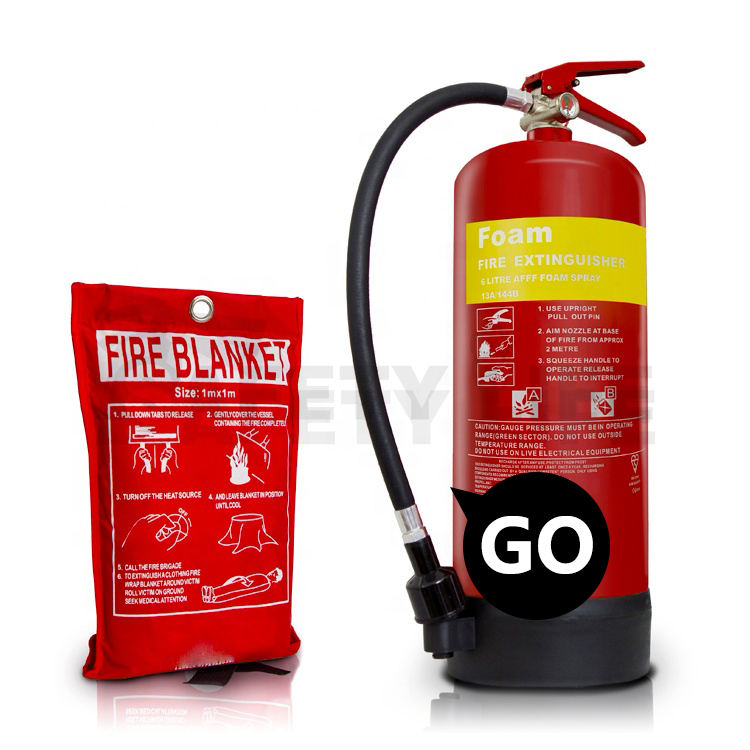 Empty 9l water based wet chemical fire extinguisher