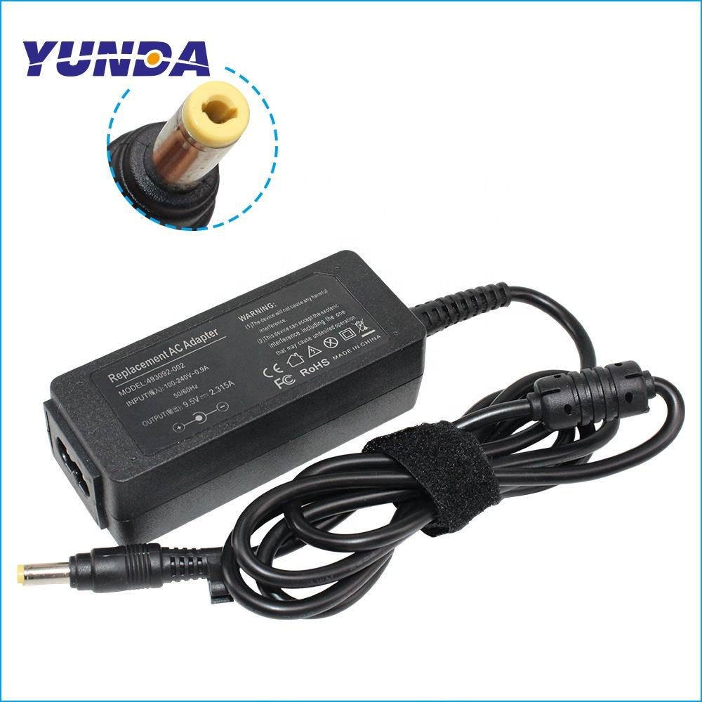 OEM 9.5V 2.315A Replacement AC Adapter Charger for ASUS Eee PC 700 701SD 701SDX 2G 4G 8G 4.8mm*1.7mm