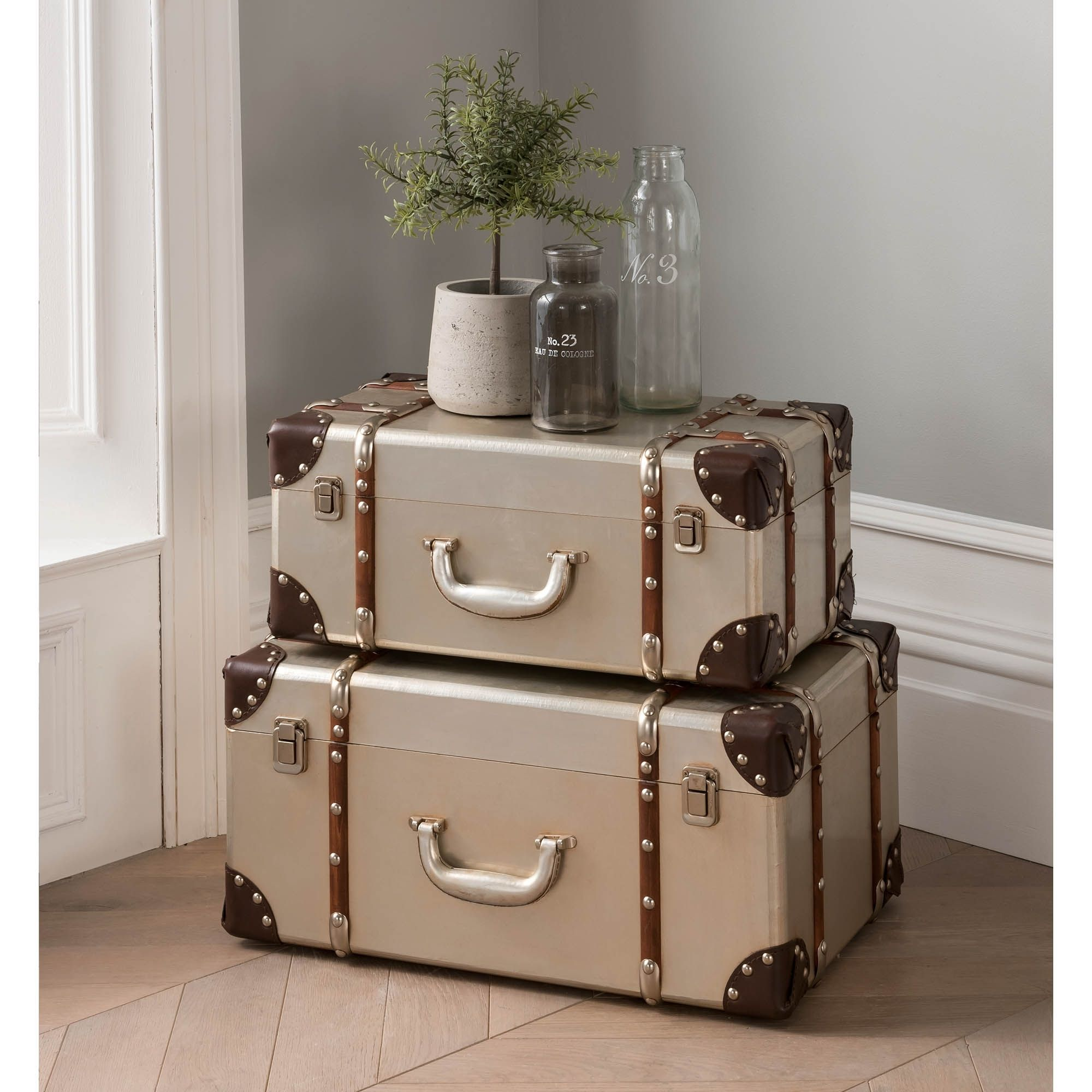 Aluminum Storage Trunk