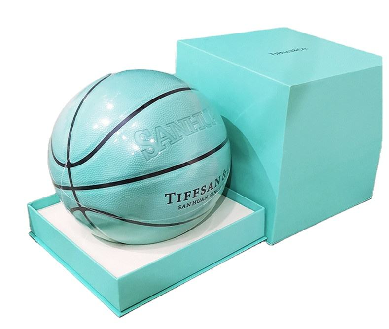 New trend Blue 4 5 6 7 Customized Lettering Gift balls of basketball