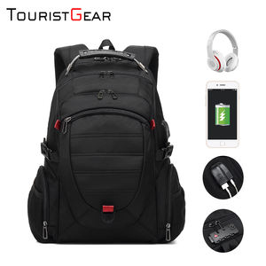 New Fashion High Quality Nylon Waterproof School bag anti-theft laptop backpack with usb port