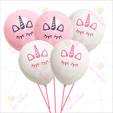 "New 16 Pcs 10 ""Latex Cute Unicorn Balloon Wedding Romantic Essential Balloons Custom Party Unicorn Balloons"