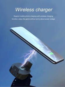 Fast charging cooling clip mobile cooler 10W wireless charger phone Radiator