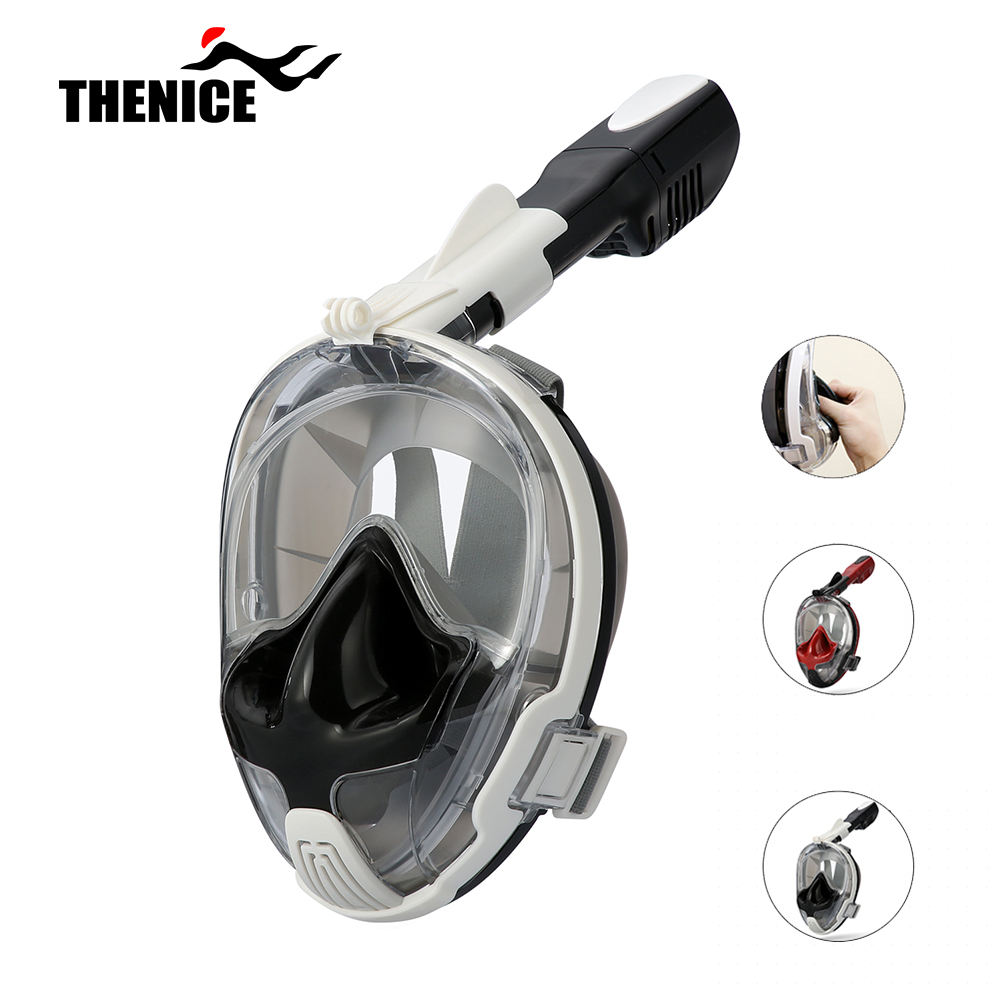 Diving Amazon Top Seller 2019 Scuba Diving Equipment Full Face Snorkel Mask Equalizing