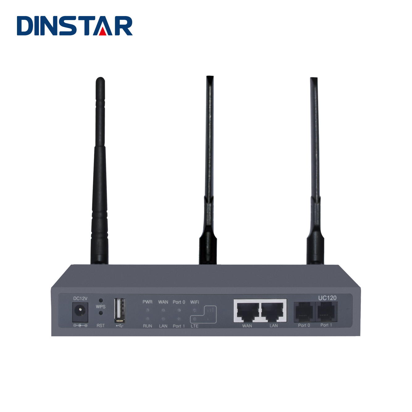 Dinstar Wireless USB GSM 4G IP PBX VOIP SIP Server dengan Wifi Router