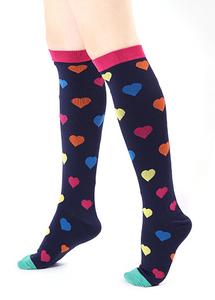 Women 15-20 Mmhg For Nurse Copper Nursing Flying Comrad Travel Best Mates Panda Designer Cotton Pregnancy Compression Socks