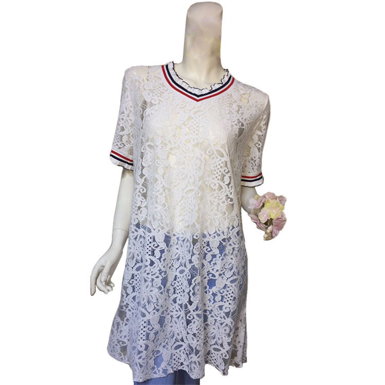 Lace hollowing out women comfort dress clothes manufacturers