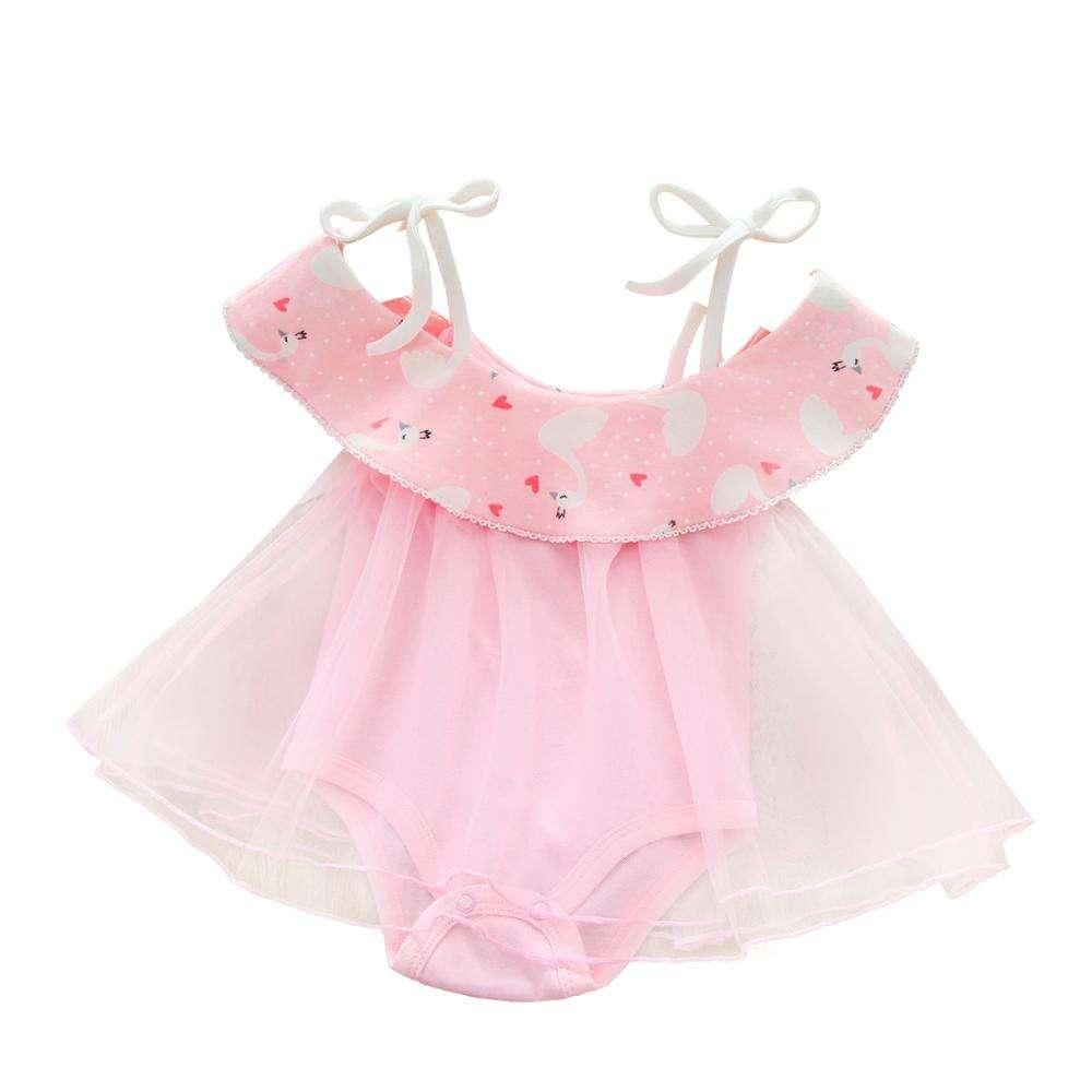 59 KAIHUI Cotton Pink Romper