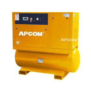 20HP 15KW Schroef Compressor Mountain Op 500 Lilter Air Tank Droger All In One Compressor 60 70 80 Liter air Compressor