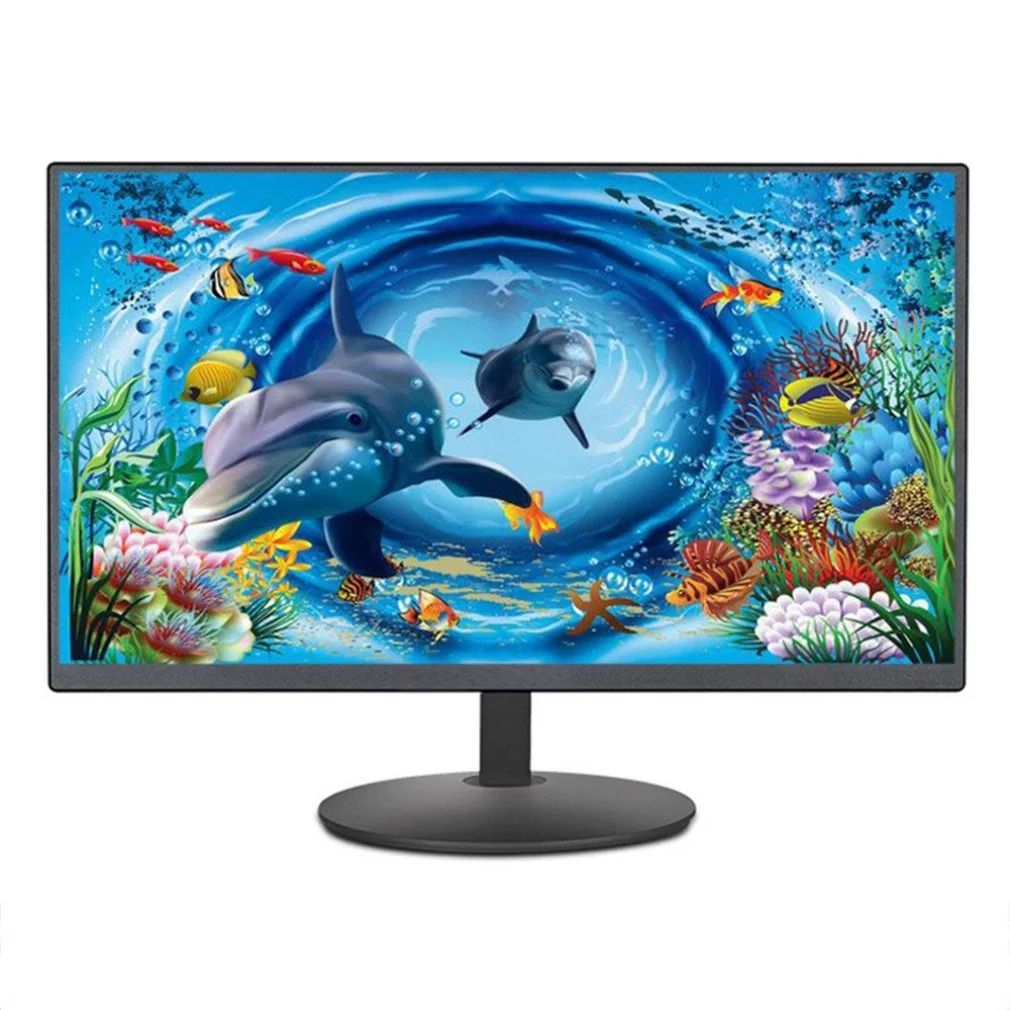 "Factory Cheap 19 inch LED Monitor 15"" 17"" 19"" 20"" 22"" 24"" LCD PC IPS monitor With wall hole"