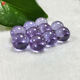 Beads Gemstone Gemstone Beads 3A Synthetic Cubic Zircon Lavender Color Ball Shape Beads 6.0mm -10.0mm Loose Gemstone