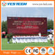 China flexible video wall led displays stage background p4.8 led display big screen