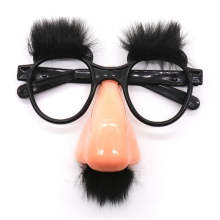 Halloween Decor Funny Big Nose Eyebrow Mustache Costume Glasses Birthday Party Favor Christmas Costume Props Mask