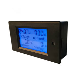 PZEM-031 6.5-100V 20A 4in1 Voltage Spanning Solar Dc Energy Meter Motorfiets Digitale Voltmeter