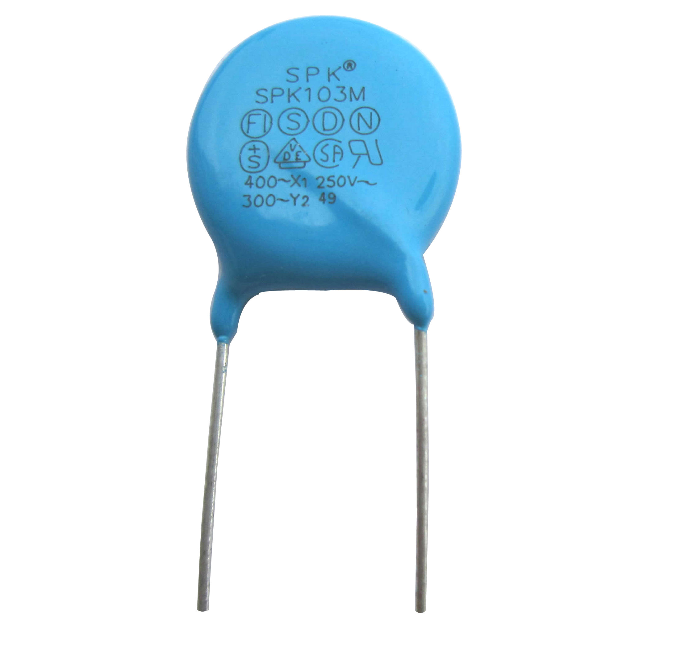 Y2 Safety standard recognized  capacitor 4.7nF 4700pF 472 250VAC M 20/% 20PCS