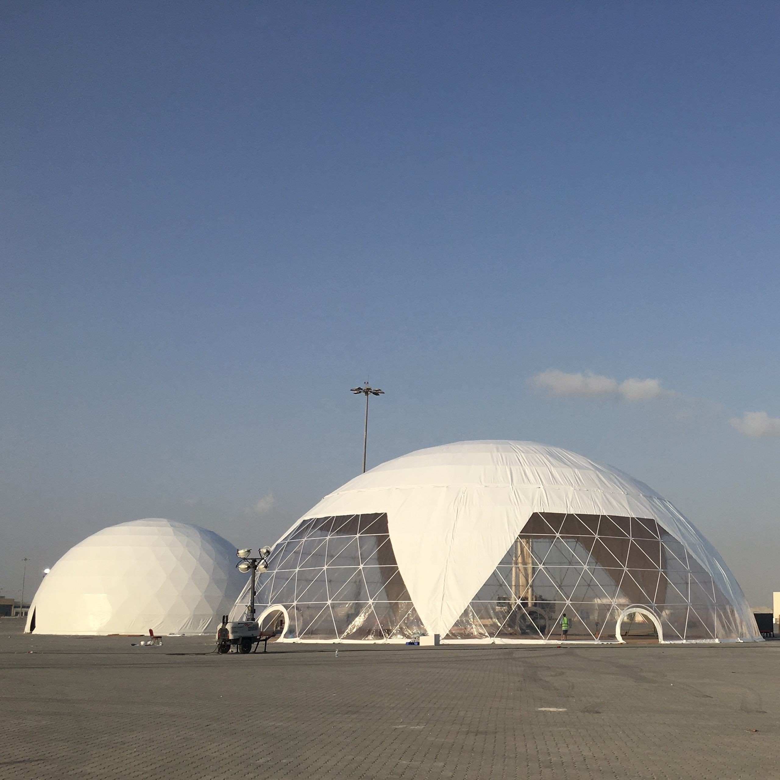 Best Selling Outdoor PVC Fabric Eco Geodesic Dome Tents For Events
