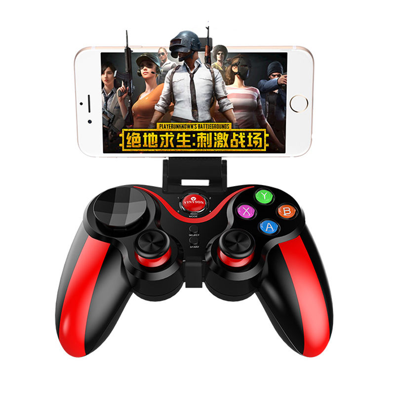 Wireless bluetooth Game Controller Joystick For Mobile Phone Android/ios /PC /PS3/TV Mobile Game Controller For PUBG
