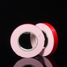 Free sample double sided white PE foam tape for automobile use or daily use