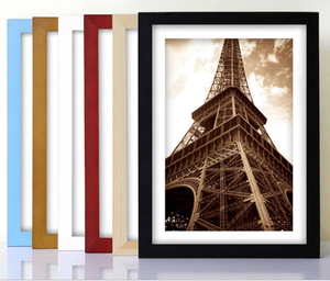 Solid wood photo frame customization 5 7 8 10 16 inch 36 inch A4 A5 multi-size Custom frame