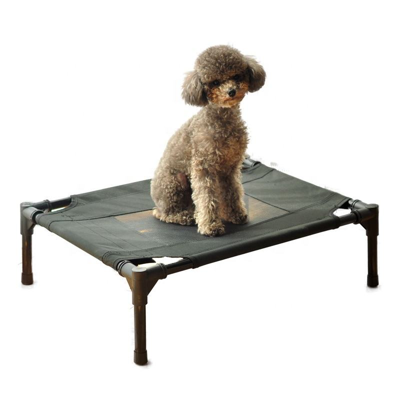 Laifug wholesale Elevated Dog Bed Pets Mesh Bed Pet Cot with Foldable Steel Tube