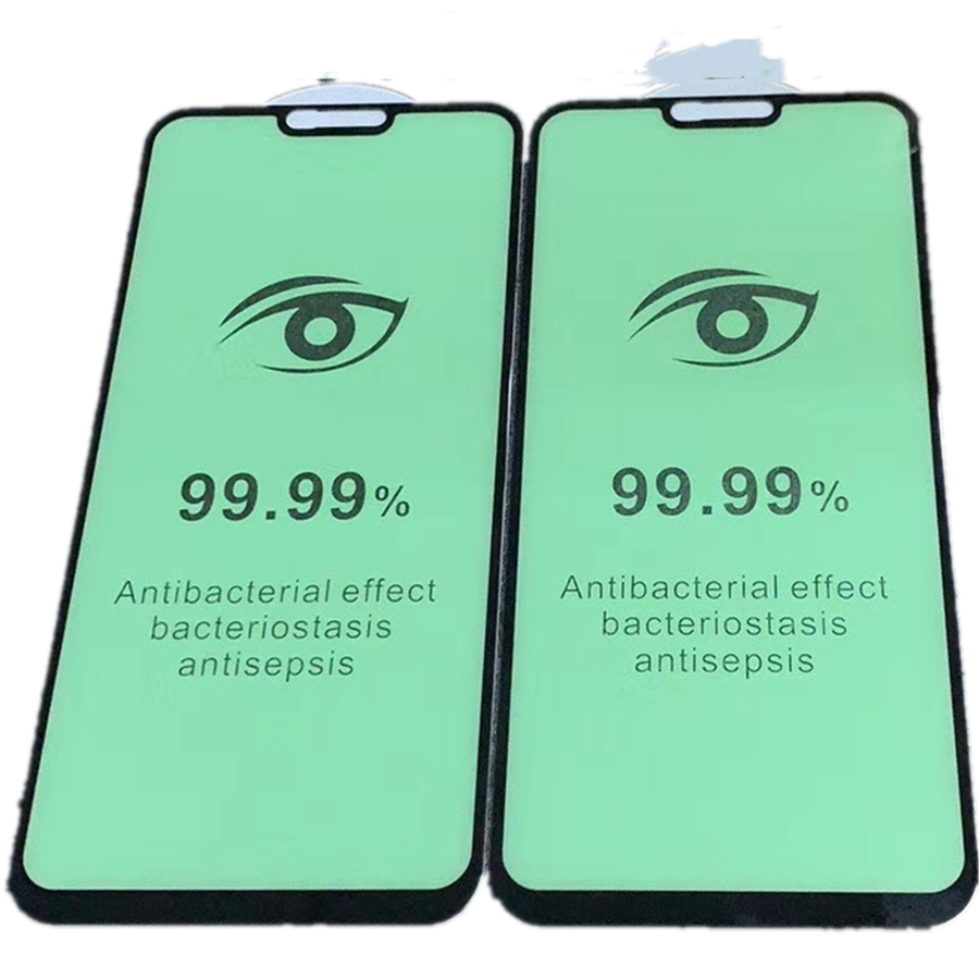Prevent myopia Green light Protect pupil eye Tempered Glass Screen Protector for oppo A20E Chlorophyll Glass