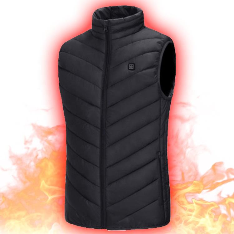 Factory Price Men And Women Intelligent Battery Operated Intelligent Battery Operated Usb Heated Body Warmer Down Heating Vest
