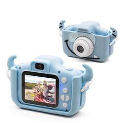 Mini cute small portable safe children's camera with front and rear dual cameras with 32G TF card