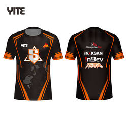E-sports Team Gamer Jerseys For Boys Esports Personalizado Jersey